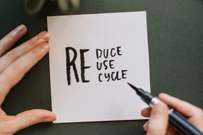 The 3 R's: 2 effortless green habits & 1 false myth